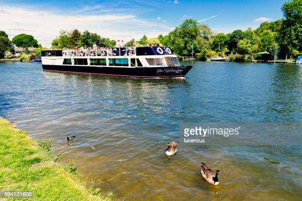 River Thames tourboat, Henley, England