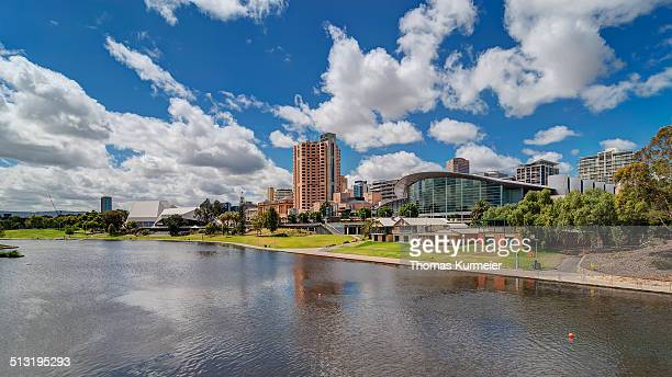 river torrens adelaide - adelaide stock pictures, royalty-free photos & images