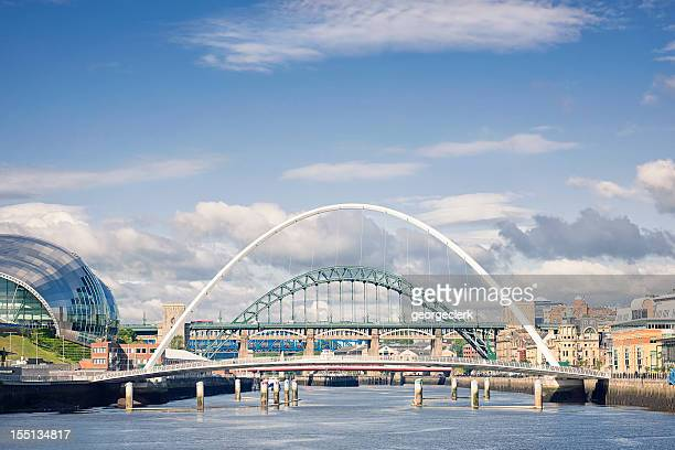 river tyne bridges - newcastle upon tyne stock pictures, royalty-free photos & images