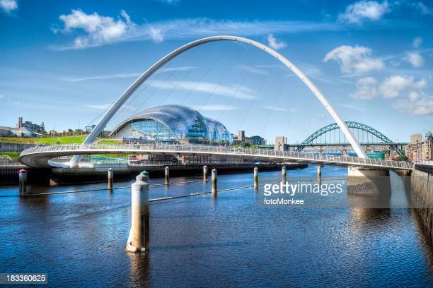 River Tyne, HDR image, Newcastle, UK
