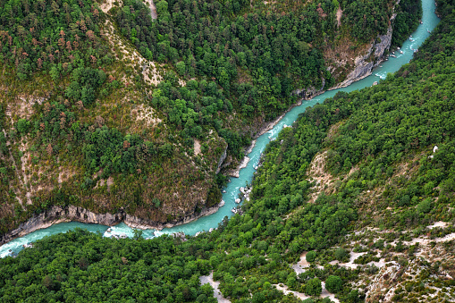 River valley of the Verdon 1162704890