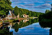 netherlands utrecht province oud zuilen village