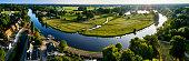 netherlands utrecht province vecht river