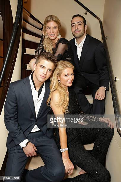 River Viiperi Hofit Golan Mohammed Al Turki and Paris Hilton attend the Zero Theorem Party Hosted by Terry Gilliam The 66th Annual Cannes Film...