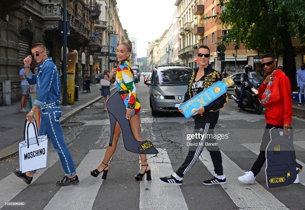 CIROC x Moschino Collaboration Launch Photocall