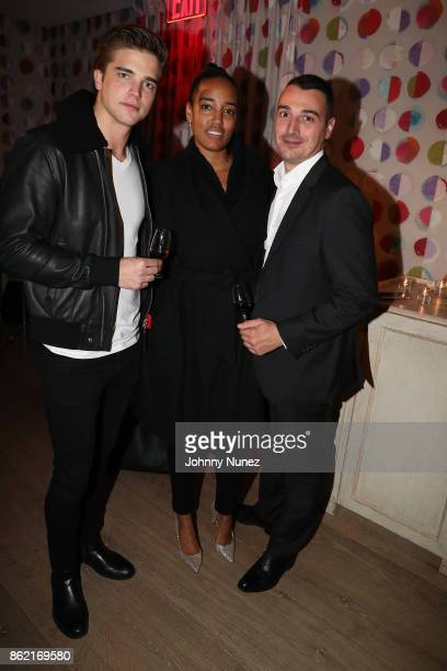 River Viiperi, Naeemah Leonard and Baptiste Loiseau Attend Remy Martin Presents Carte Blanche Merpins With Cellar Master Baptiste Loiseau And Super...