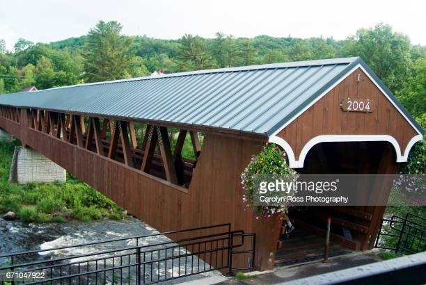 river walk covered bridge - carolyn ross stock pictures, royalty-free photos & images