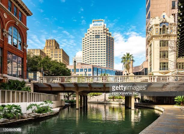サンアントニオのリバーウォーク - テキサス州サンアントニオ ストックフォトと画像
