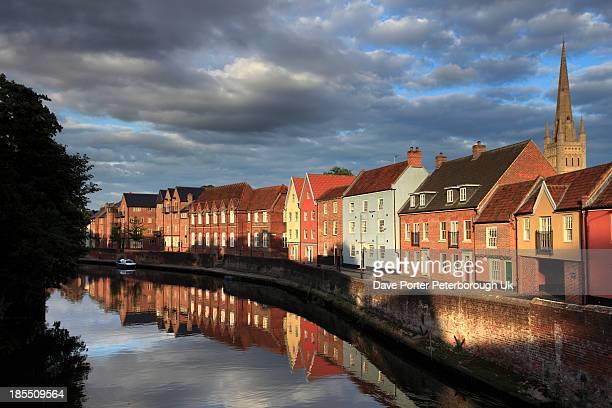 River Wensum quayside Norwich City