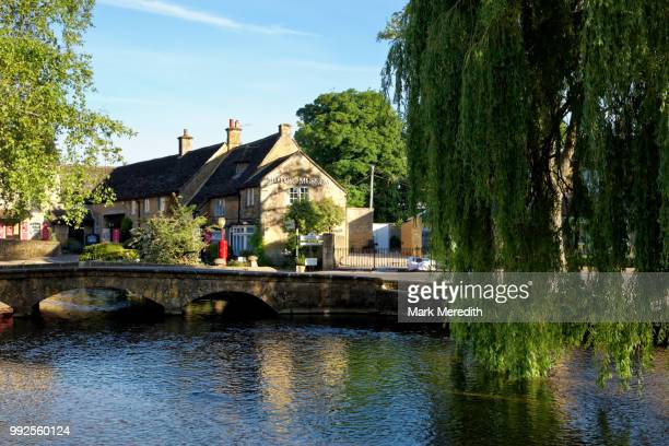 River Windrush and Bourton-on-the-Water's Cotswold Motoring Museum