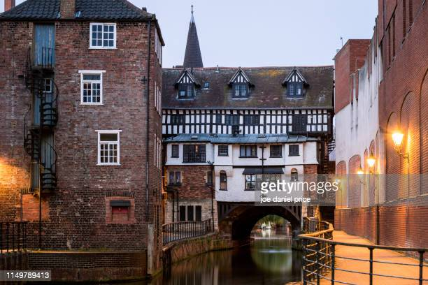 river witham, lincoln, england - lincolnshire stock pictures, royalty-free photos & images