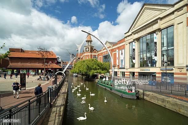 River Witham, Lincoln, Lincolnshire, England, U.K.