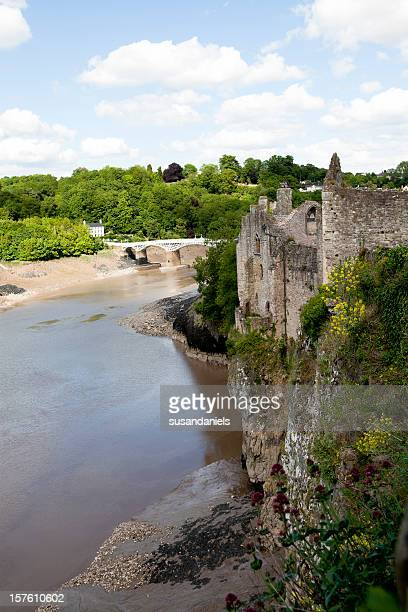 River Wye and Chepstow Castle