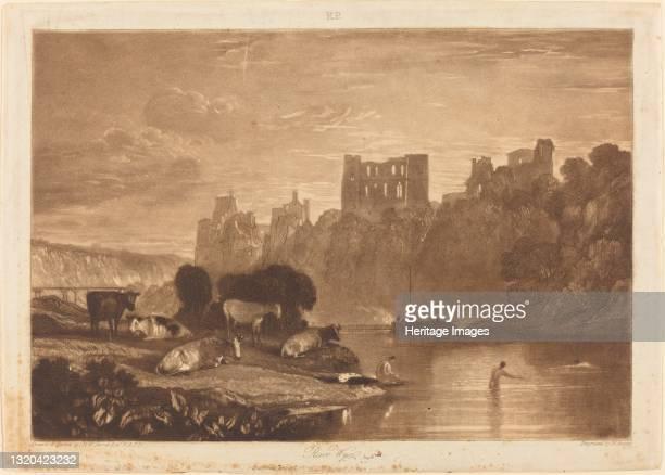 River Wye, published 1812. Artist JMW Turner.