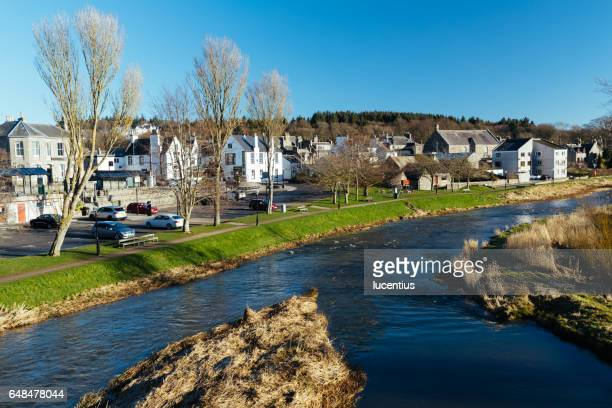 River Ythan at Ellon, Aberdeenshire, Scotland