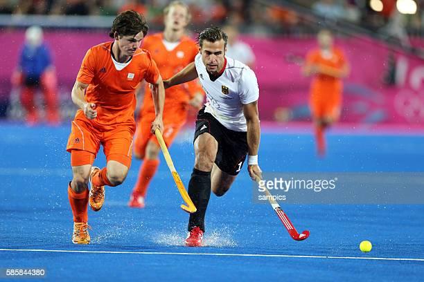 Wouter Jolie Christopher Zeller Olympische Sommerspiele 2012 London Hockey Männer Finale Deutschland Niederlande 21 Riverbank Arena Olympic Summer...