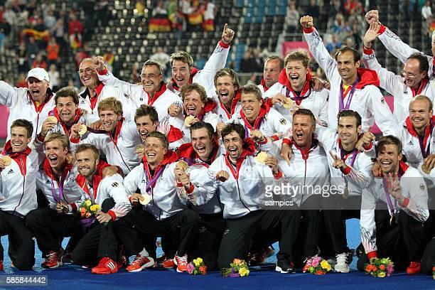 Hockey Männer Finale Deutschland Niederlande 21 Riverbank Arena Olympic Summer Games 2012 London Hockey men Gold medal match Germany Netherlands
