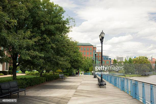 Riverfront in Downtown Wilmington, Delaware