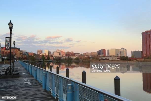 Riverfront on the Christina River Wilmington Delaware USA