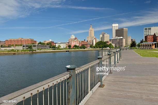 プロビデンスのリバーフロントパーク - ロードアイランド州プロビデンス ストックフォトと画像