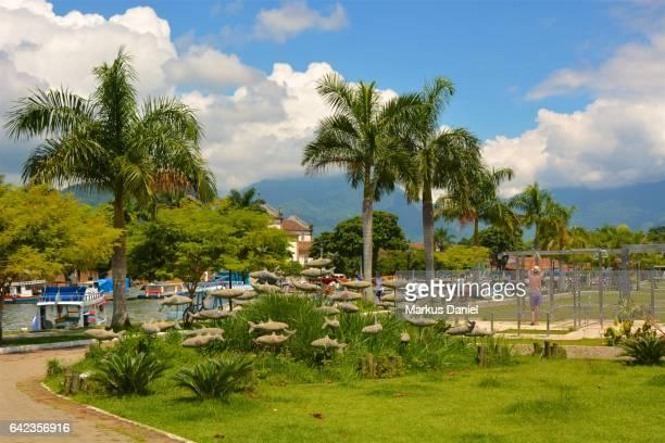 Riverfront Park of Town of Paraty, Rio de Janeiro