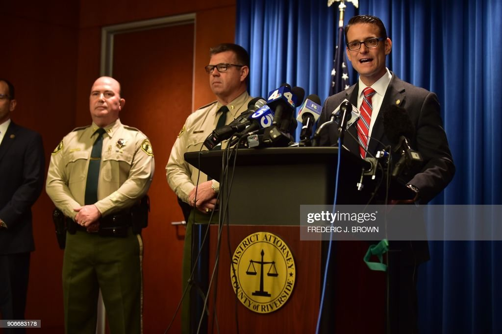 DA's Office Announces Charges Against California Couple Who Held 13 Kids Captive