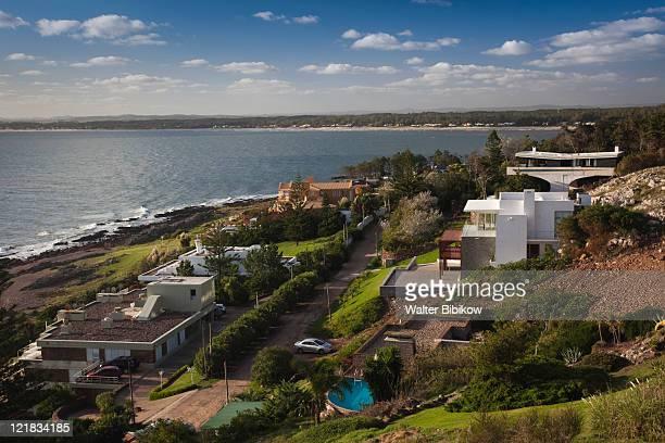 riverside homes, punta ballena, punta del este area, uruguay, february 2009  - maldonado uruguay stock pictures, royalty-free photos & images