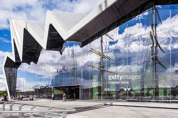 Riverside Museum of Transport & Travel, Glasgow UK