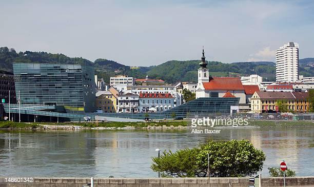 Riverside of Linz
