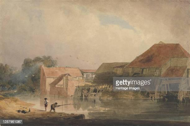 Riverside Scene 180510 Artist Peter de Wint