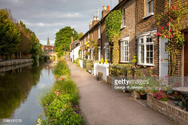 riverside walk - hertfordshire stock pictures, royalty-free photos & images