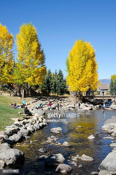 Riverwalk and the Blue River Plaza: Breckenridge, Colorado