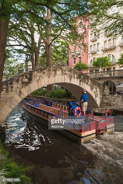 riverwalk - san antonio river walk stock photos and pictures