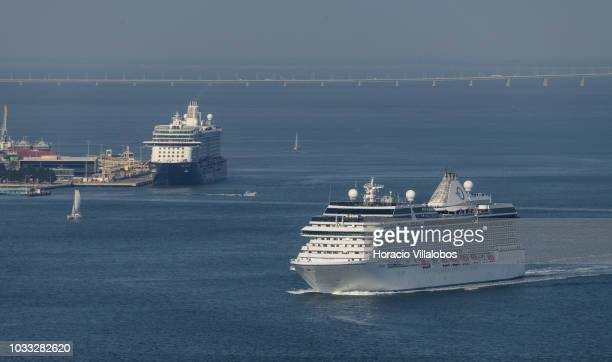 Mediterranean Cruise On Cruise Ship Ms Stock Photos and
