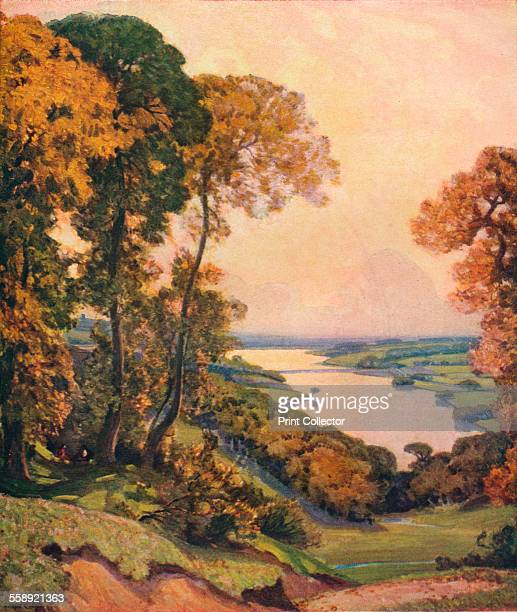 'Rivington Water' 1910 Painting held in Lady Lever Art Gallery From The Studio Volume 82 [London Offices of the Studio London 1921]