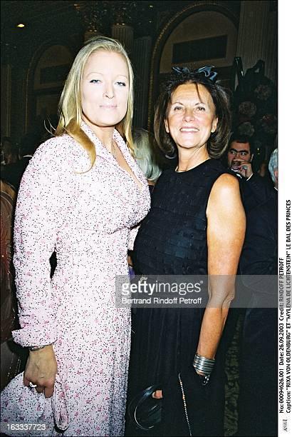 Rixa Von Oldenburg and Mylena De Liechtenstein the Bal Des Princes woman