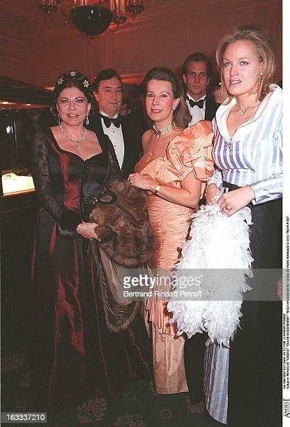 Rixa Von Oldenburg Princess Soraya Eva De Walderdorff Rixa Von Oldenburg at The Bal De Paris In Celebration Of Sissi