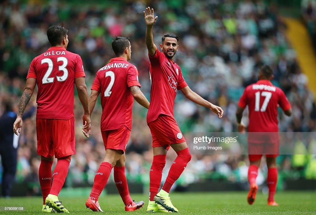 Celtic v Leicester City - Pre-Season Friendly : News Photo