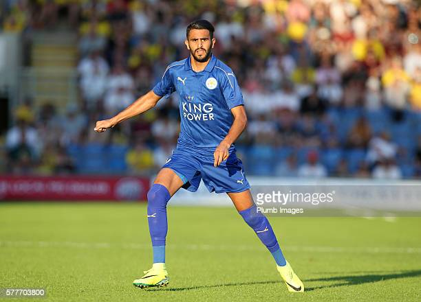 Riyad Mahrez of Leicester City during the pre season friendly between Oxford United and Leicester City at Kassam Stadium on July 19 2016 in Oxford...