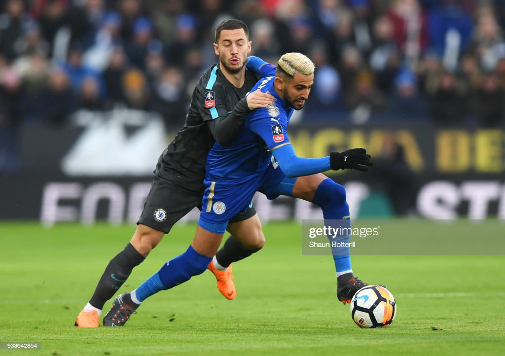 Leicester City v Chelsea - The Emirates FA Cup Quarter Final : News Photo