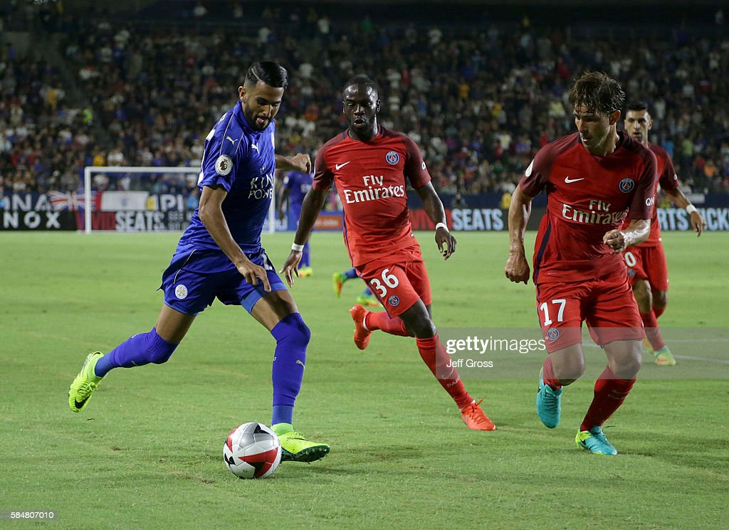International Champions Cup 2016 - Paris Saint-Germain v Leicester City : News Photo