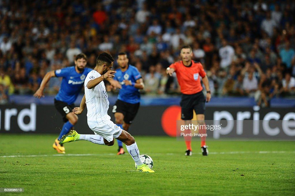 Club Brugge KV v Leicester City FC - UEFA Champions League : News Photo
