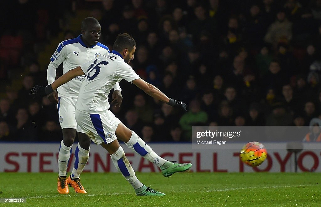 Watford v Leicester City - Premier League : News Photo