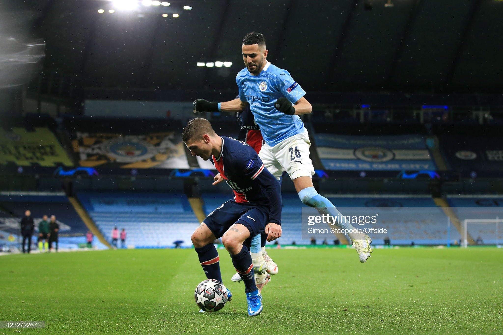 Manchester City v Paris Saint-Germain - UEFA Champions League Semi Final: Leg Two : News Photo
