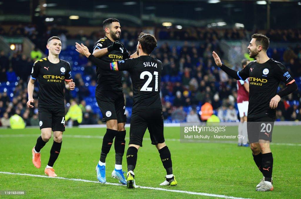Burnley FC v Manchester City - Premier League : News Photo
