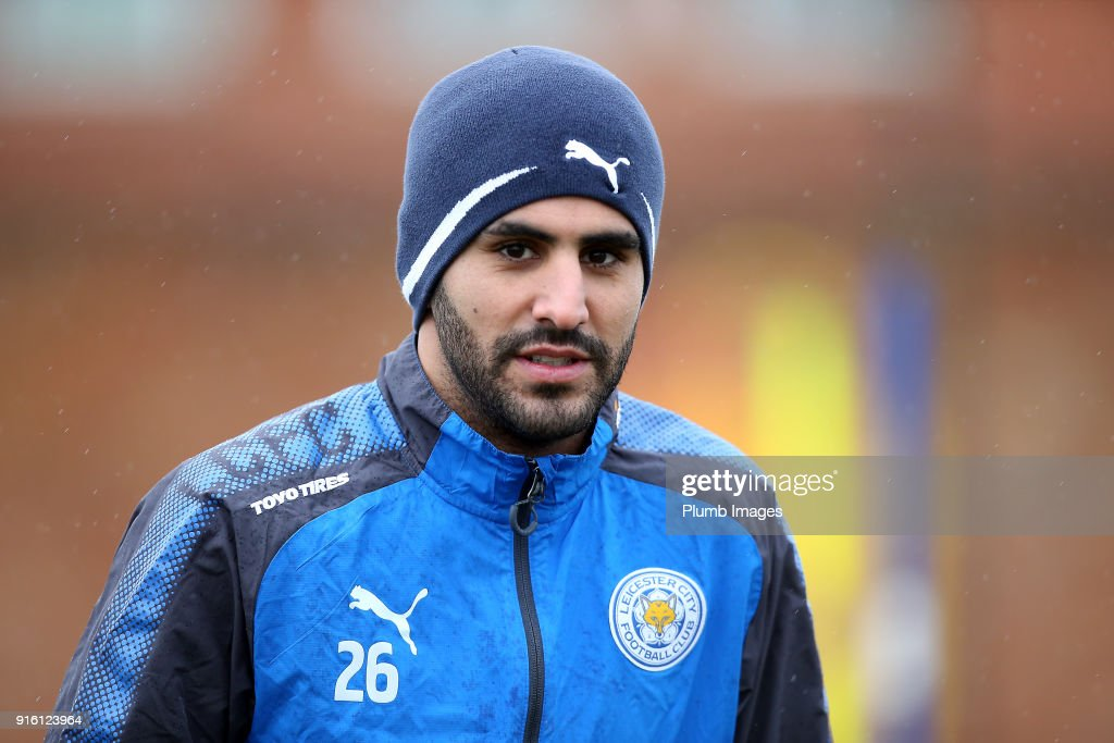 Leicester City Training and Press Conference : ニュース写真