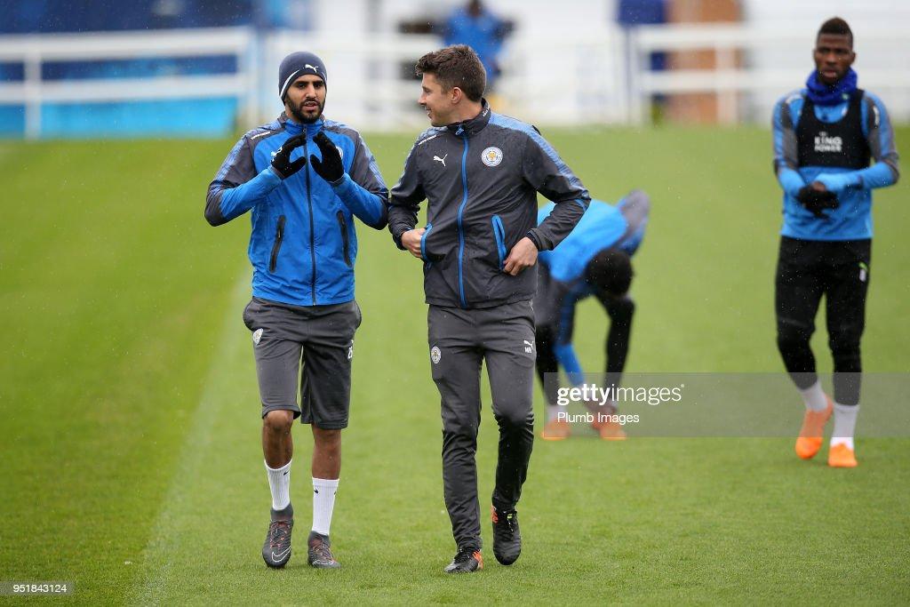 Leicester City Training : News Photo
