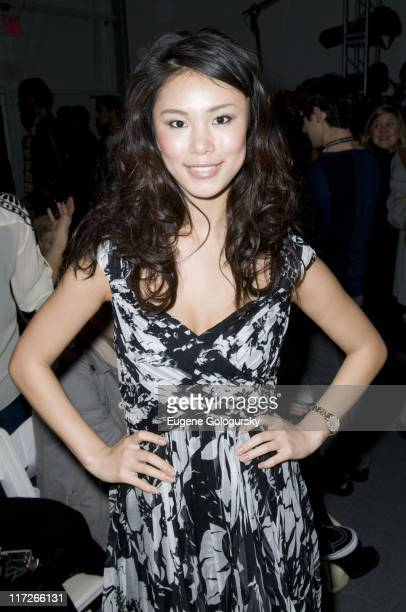 Riyo Mori attends Willow Fall 2008 during MercedesBenz Fashion Week at The Salon Bryant Park in New York City on February 8 2008