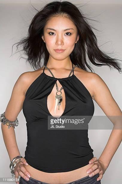 Riyo Mori during Miss Universe Japan 2007 Top 16 Candidates Photo Shoot at JILSTUDIO in Tokyo Japan