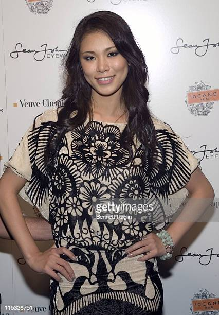 Riyo Mori Miss Universe 2007 during 10 Cane Rum and Sean Jean Present Sean P Diddy Combs CFDA Awards After Party at Marquee in New York City New York...